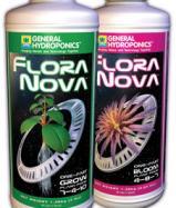 Удобрения GHE FloraNova Bloom и Grow
