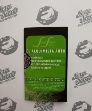 семена конопли El Alquimista Auto Samsara Seeds