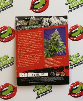 семена конопли Killer Kush F1 Fast Version